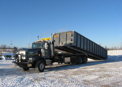 hauling slop tank