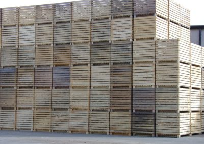 Boxes Business Crates Wood Many Brown Agriculture