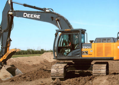 290G Track Hoe